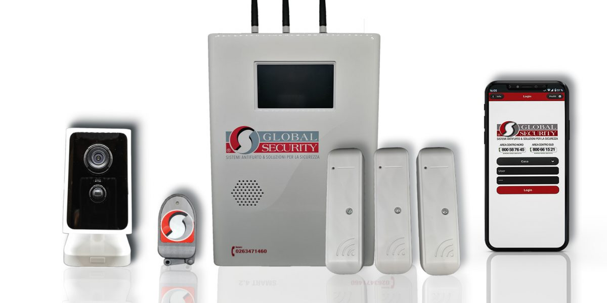 Kit antifurto senzafili Smart 4.2 - GLM Security